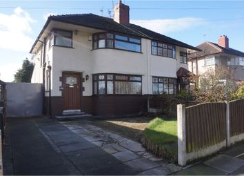 Thumbnail 3 bed semi-detached house for sale in Pilch Lane, Liverpool
