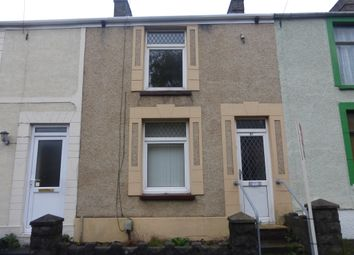 Thumbnail 2 bedroom terraced house for sale in Middle Road, Cwmbwrla, Swansea