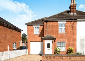 Thumbnail 3 bedroom semi-detached house for sale in Church Crookham, Fleet, Hampshire