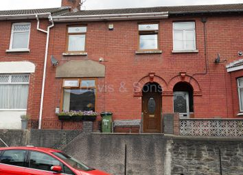 Thumbnail 2 bed terraced house for sale in Risca Road, Cross Keys, Newport.