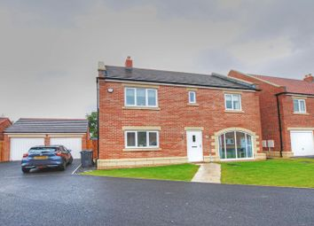 Thumbnail 4 bed detached house for sale in Stonecrop Drive, Wideopen, Newcastle Upon Tyne