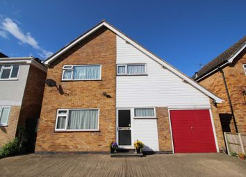 Thumbnail 3 bed detached house for sale in Penclose Road, Fleckney, Leicester