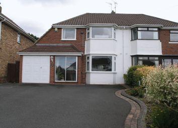 Thumbnail 3 bed semi-detached house for sale in Longmoor Road, Hayley Green, Halesowen