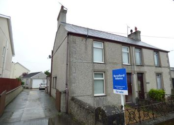 Thumbnail 3 bed semi-detached house for sale in High Street, Bryngwran, Holyhead, Sir Ynys Mon