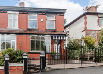 Thumbnail 4 bed semi-detached house for sale in Guywood Lane, Romiley, Stockport