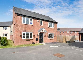 Thumbnail 3 bed detached house for sale in Askerton Close, Boulton Moor, Derby