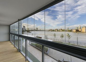 Thumbnail 3 bed flat to rent in Beacon Point, 12 Dowells Street, New Capital Quay, Greenwich, London