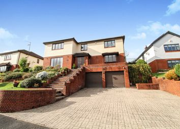 Thumbnail 4 bed detached house for sale in Brooklea, Caerleon, Newport