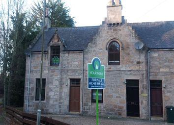 Thumbnail 1 bed flat for sale in Oldmills Road, Elgin