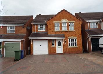 Thumbnail 4 bed detached house for sale in Foxtail Way, Cannock, Staffordshire