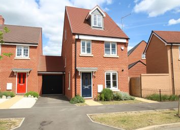 Thumbnail 3 bed detached house for sale in Laxton Road, Berryfields, Aylesbury