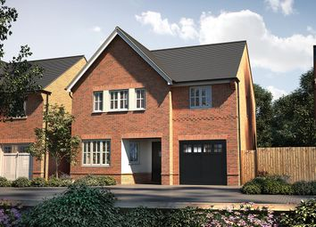 "Thumbnail 4 bed detached house for sale in ""The Olton"" at Brampton Lane, Chapel Brampton, Northampton"
