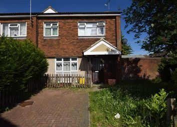 Thumbnail 3 bed end terrace house for sale in Harlech Close, Pitsea, Basildon, Essex