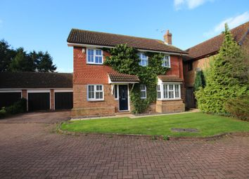 Thumbnail 4 bed detached house to rent in Wilson Drive, Ottershaw, Chertsey