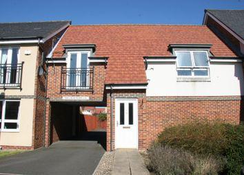 Thumbnail 2 bed flat to rent in Hindmarsh Drive, Ashington, Northumberland
