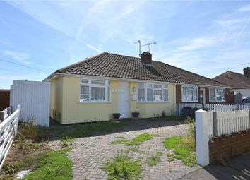 Thumbnail 3 bed bungalow for sale in The Crescent, Lancing, West Sussex