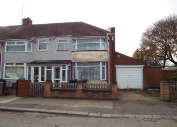 Thumbnail 4 bedroom end terrace house for sale in Morland Road, Holbrooks, Coventry, West Midlands