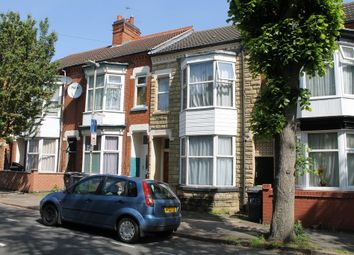 Thumbnail 4 bedroom terraced house to rent in Harrow Road, West End, Leicester