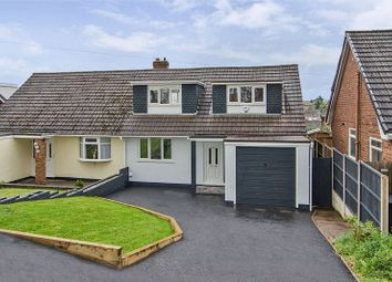 Thumbnail 3 bed semi-detached house for sale in Thornfield Crescent, Chase Terrace, Burntwood