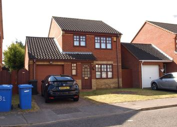 Thumbnail 3 bed detached house to rent in Chaukers Crescent, Carlton Colville, Lowestoft