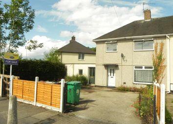 Thumbnail 3 bedroom semi-detached house for sale in Farnborough Road, Clifton, Nottingham