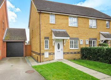 Thumbnail 3 bedroom semi-detached house for sale in Teachers Close, Manea, March