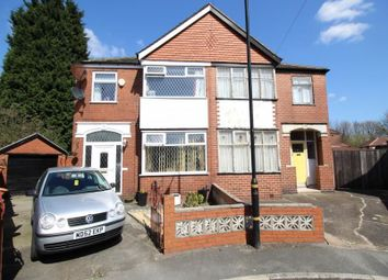 Thumbnail 3 bed semi-detached house for sale in Hope Avenue, Stretford, Manchester
