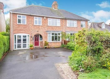 Thumbnail 5 bed semi-detached house for sale in Bradgate Road, Newtown Linford, Leicester, Leicestershire