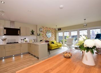 Thumbnail 4 bed town house for sale in Whitby Close, Holborough Lakes, Snodland, Kent
