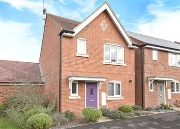 Thumbnail 3 bed detached house for sale in Elk Path, Three Mile Cross, Reading, Berkshire