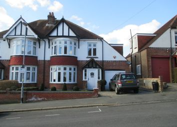 Thumbnail 4 bed semi-detached house to rent in Burrill Avenue, Cosham, Portsmouth