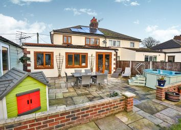 Thumbnail 3 bedroom semi-detached house for sale in Fakenham Road, Briston, Melton Constable