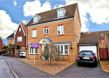 Thumbnail 4 bed detached house for sale in Cormorant Road, Sittingbourne