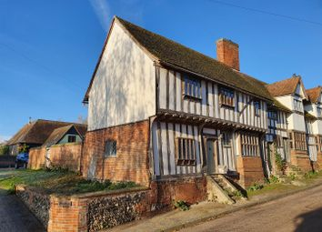 Thumbnail 2 bed end terrace house for sale in 1 Ancient Houses, The Street, Kersey, Suffolk