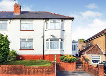 3 bed semi-detached house for sale in Redlands Road, Penarth CF64