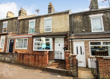 Thumbnail 2 bed terraced house to rent in Churchill Road, Norwich