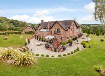 Thumbnail 5 bed detached house for sale in Bickerton, Malpas, Cheshire
