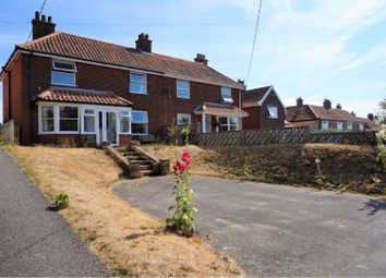 Thumbnail 3 bed semi-detached house for sale in Saxmundham Road, Aldeburgh