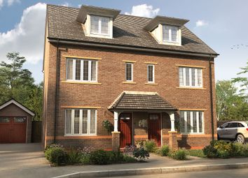 """Thumbnail 3 bedroom semi-detached house for sale in """"The Marlowe"""" at University Park Drive, Worcester"""