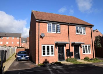 Thumbnail 2 bed semi-detached house for sale in John Clare Close, Oakham