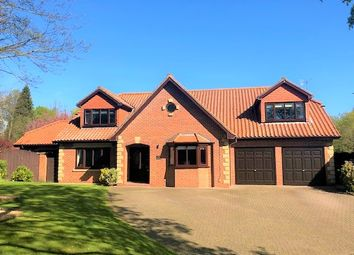 Thumbnail 5 bed detached house for sale in Wynyard Court, Thorpe Thewles, Stockton-On-Tees