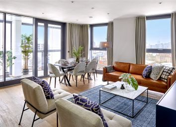 Thumbnail 3 bed flat for sale in Brogan House, Battersea Exchange, London