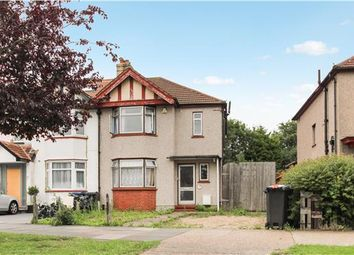 Thumbnail 3 bed semi-detached house to rent in Princes Avenue, Tolworth, Surbiton