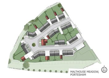 Thumbnail 4 bed detached house for sale in Plot 8 Malthouse Meadow, Portesham, Weymouth, Dorset