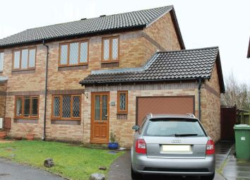 Thumbnail 3 bed semi-detached house to rent in Grafton Drive, Cross Inn