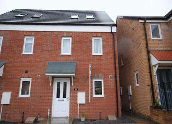 Thumbnail 3 bed semi-detached house for sale in Oakmont Rise, Ashington