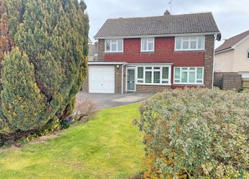 Thumbnail 3 bed detached house for sale in Falmer Avenue, Goring-By-Sea, Worthing
