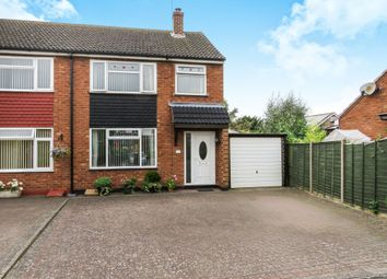 Thumbnail 3 bedroom semi-detached house for sale in Elms Drive, Austrey, Atherstone