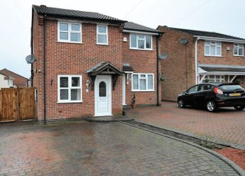 Thumbnail 2 bed semi-detached house for sale in Cloverdale, Midway, Swadlincote