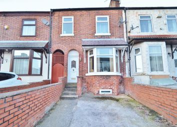 Thumbnail 3 bed terraced house for sale in Shakespeare Crescent, Eccles, Manchester